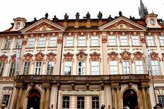 Modernismo en Praga  PALACIO KINSKY