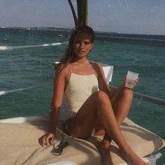 qotd: sunny or rainy day? aotd: sunny day. - - - - - - #lfl #fff #sfs #photography #photo #picture #art #theme #artistic #vintage #retro #redrosetragedy #girl #woman #fashion #style #swimsuit #sun #beauty #beautiful #pretty #pradise #ocean #water #boat #vacation #hot #drink #sunglasses #beach