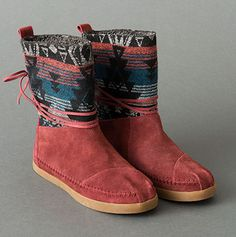 TOMS Boots | TOMS.com...my teacher was wearing a pair of these today and I must admit I was a tad jealous.