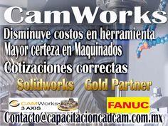 Licencias de CamWorks en Mexico crea codigo G para tus maquinados en segundos