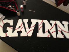 For Gavinns baseball room