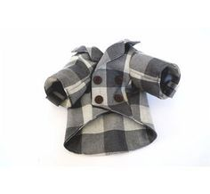 Puppy Peacoat. Miles would look so handsome in this.