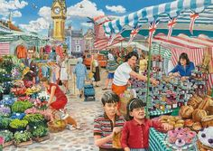 A Trip to the Shops (280 pieces)Image copyright: Trevor Mitchell