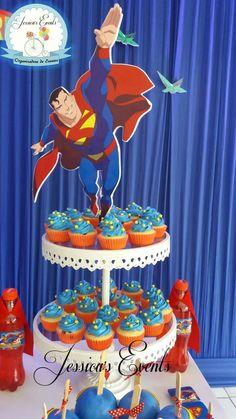Superhero Birthday Party, Birthday Cake, Cake Ideas, Favors, Birthdays, Cupcakes, Events, Invitations, Superman Birthday