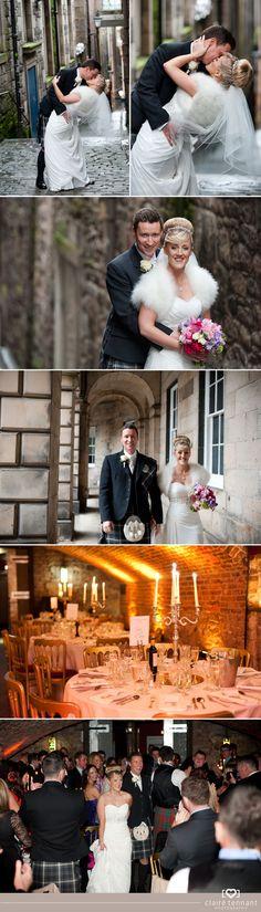 Wedding photography at The Caves, Edinburgh   Anna & Willie