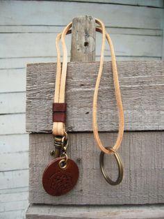 Around the purse keychain.