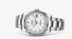 Orologio Rolex Datejust 36: Rolesor bianco (combinazione di acciaio 904L e oro bianco 18 ct.) – 116234