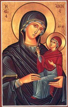 sant'Anna con la Madre di Dio - iconecristiane - Picasa Web Albums