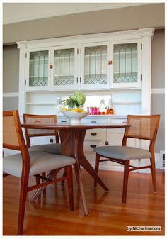 Built-In Buffets Beef Up Dining Room Style  Call them sideboards or dining buffets. Stack on a china cabinet or not. No matter the style, these built-ins serve up sophisticated storage
