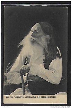Old man from Missolonghi (Messolonghi)               www.delcampe.net/en_GB/collectables/postcards/greece/greece-old-man-from-missolonghi-messolonghi
