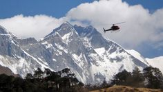 Helicopter tour of Everest Base Camp
