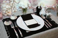 Wedding theme color-Black&White-
