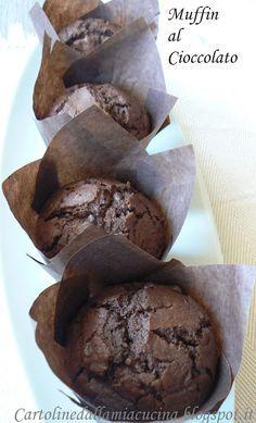 Cartoline dalla mia Cucina: Muffins (arancia e) cioccolato.....di Montersino