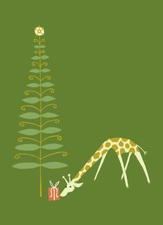 great arrow graphics | Christmas Giraffe - Great Arrow Graphics - Christmas CardHeather_Culver  @Marisa Rouzic Pennington Foster  #Bemorefestive #Choosetobemorefestive