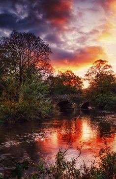 Drum Bridge, which spans the river Lagan, near Belfast (by Gerard Callaghan)