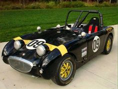 This 1959 Austin-Healey Bugeye Sprite racer is said to have logbooks and track history back to the early '70s with SCCA, VSCDA, and SVRA. Fi...