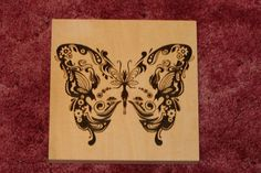 pyrography of butterflys | Set+of+3+Woodburned+PlaquesButterfly+Hummingbird+by+LumberYarn,+$100 ...