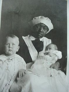 """We Are Literally Slaves"": An Early Twentieth-Century Black Nanny Sets the Record Straight Old Photos, Vintage Photos, American Photo, Black Image, Historical Images, African American History, Black People, Black History, Black And White"