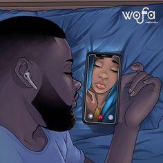 🛩️🗺️If you are in a LDR look at our app ʟɪɴᴋ ɪɴ ʙɪᴏ . Sexy Black Art, Black Girl Art, Black Women Art, Art Girl, Black Love Artwork, Black Art Painting, Black Art Pictures, Beautiful Pictures, Black Couple Art
