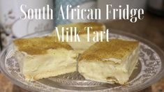 Custard Recipes, Tart Recipes, Curry Recipes, Cooking Recipes, South African Desserts, South African Recipes, Salted Caramel Fudge, Salted Caramels, Milktart Recipe