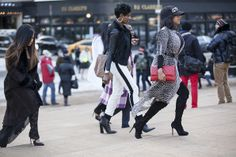 2014 NY Fashion Week's Finest | ladies in motion
