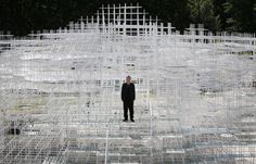 Sou Fujimoto Photos - Serpentine Gallery Pavilion Opens in London - Zimbio