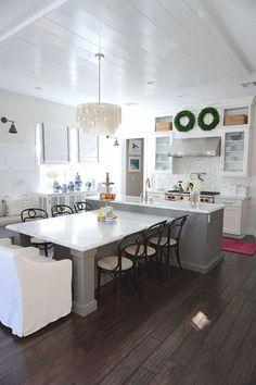 140 Kitchen Island W Built In Seating Ideas Kitchen Design Kitchen Remodel New Kitchen
