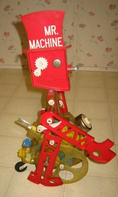 .I remember.. I loved my Mr. Machine!