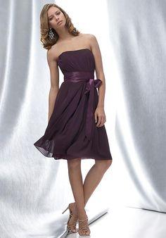 4e12d521bff2 bridesmaid dress Strapless Dress Formal, Bridesmaid Gowns, Plum Bridesmaid,  Classic Bridesmaids Dresses,