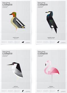 Carteles para el Parque Natural de l'Albufera por Manuel Martín Arenas   Experimenta