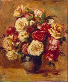 Renoir - Bouquet de Roses