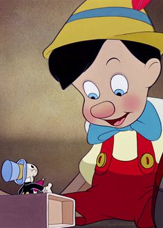 Pinocchio (1940) #carlocollodi  #waltdisney