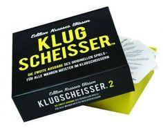 Klugscheisser 2 - das Spiel für Partys, Hochzeiten und nette Abende. Auch für Ihren Klugscheisser zu Hause. Viel Spaß beim Spielen und sinnloses Wissen aneignen.
