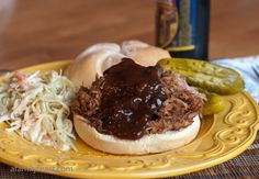 An amazing pulled pork recipe that anyone can make at home.  No need for a special smoker or BBQ pit!