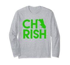 Unisex CHIRISH Chicago St Patricks Day Green Long Sleeve ...