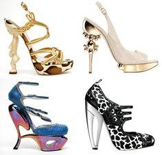 zapatos excéntricos