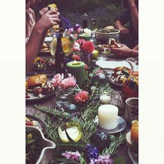 // LIFESTYLE, GARDEN, TABLESCAPES // @laurelisays