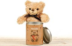 I Just Love It Personalised Valentines Day Teddy in a tin - Personalised Valentines Day Teddy in a tin - heart - Gift Details. Shortlisted for The Giftware Association Occasions Gift of the Year Award 2013 There are lots of ways to say ?I love you? like flower http://www.MightGet.com/january-2017-11/i-just-love-it-personalised-valentines-day-teddy-in-a-tin-.asp
