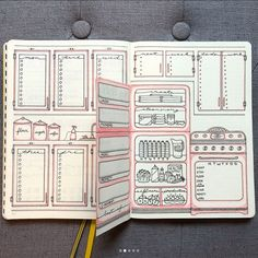 Everything You Need to Know About Dutch Door Weekly Spreads – – Bianca – Bullet Journal Bullet Journal Page, Bullet Journal Notebook, Bullet Journal Themes, Bullet Journal Inspo, Bullet Journal Spread, Ideas Scrapbook, Online Scrapbook, Scrapbooking Layouts, Scrapbook Journal