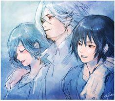 Family Touka kirishima | Yomo Renji | Ayato Kirishima