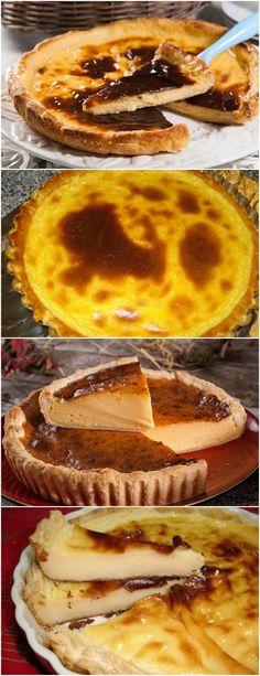 Impossível comer só uma pedaço de Tarte Natas!! Aprenda a fazer --> Estenda a massa folhada numa tarteira e aqueça o forno a 200ºC. #receita#bolo#torta#doce#sobremesa#aniversario#pudim#mousse#pave#Cheesecake#chocolate#confeitaria Cupcake Cakes, Cupcakes, French Toast, Food And Drink, Veggies, Pie, Yummy Food, Breakfast, Mousse