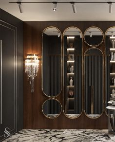 Portfolio: Apartment in New York Hall Interior, Cafe Interior Design, Luxury Homes Interior, Interior Design Inspiration, Interior Architecture, Cafe Design, Canapé Design, House Design, Design Hotel