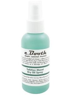 c. Booth Tahitian Monoi Dry Oil Spray (Ulta, $6.99)
