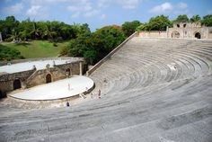 Open air theater in Dominican Republic: Photo by Jason Holland of Travel Simplicity
