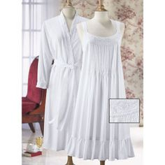 83d8a7734f Nicolette Nightgown - Stylish Home Accents and Décor - Graceful Clothing