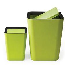 QUALY Square Flip bin 方樂色筒 Plastic, Canning, Furniture, Home Furnishings, Home Canning, Arredamento
