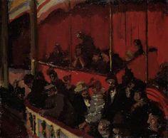 The Montmartre Theatre - sickert