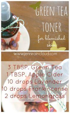 DIY Green Tea Toner for Acne Prone Skin Acne Face Mask, Acne Skin, Acne Prone Skin, Face Masks, Diy Skin Care, Skin Care Tips, Homemade Face Moisturizer, Homemade Toner, Green Tea Toner