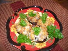 Sausage and Cheese Stuffed Mushrooms Recipe - LC