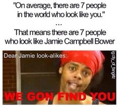 Lol love this! Jamie Campbell Bower